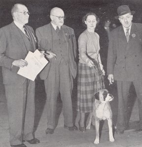 Orburn Kekeri winning BIS at Birmingham National 1949